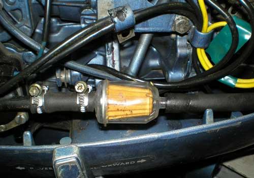топливный фильтр на лодочный мотор форум