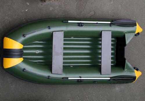 лодка пвх в разрезе
