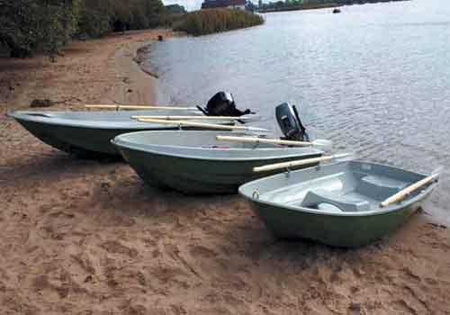 лодка из армированного полиэтилена