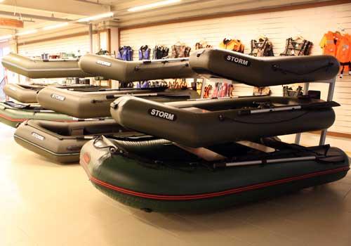 В курском магазине изъяли контрабандные лодки