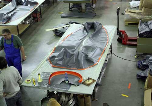 полиуретановая ткань для производства лодок