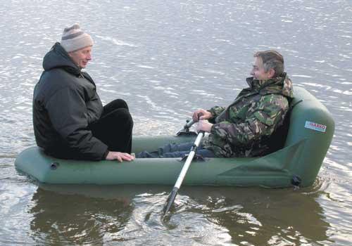 размер лодки для рыбалки вдвоем