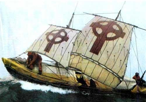 ирландцы плавали на лодке