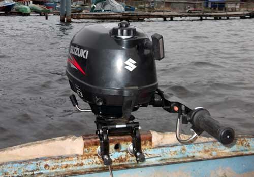 двигатель на лодку динамик