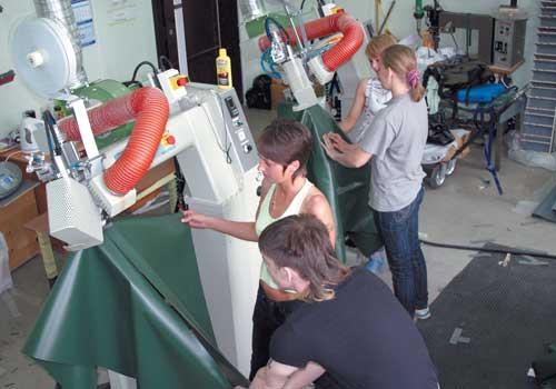 как сварить швов пвх лодки