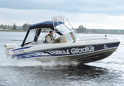Катер Gladius Sea Wind 520