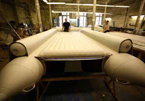 линии производства надувных лодок