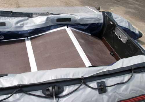 Пластиковое дно для лодки пвх своими руками