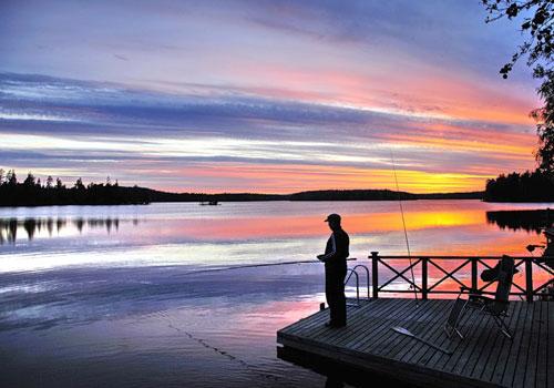 отдых в финляндии летом цены рыбалка