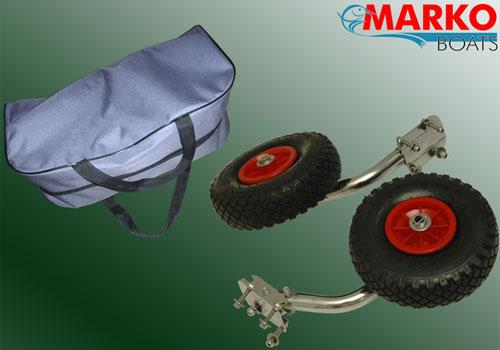 колеса транцевые быстросъемные укороченные