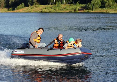 лодка пвх групер 320 с нднд