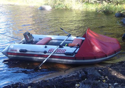 ультра дыхалка лодки