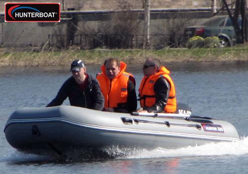 лодка надувная пвх хантер 335