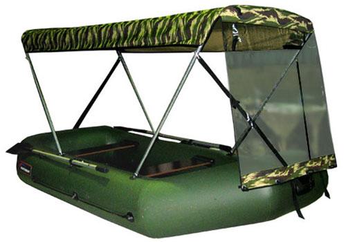 тент-крыша для лодок пвх хантер